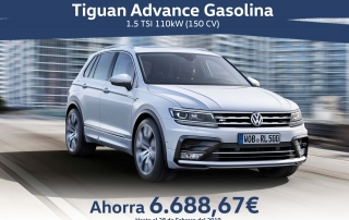 Tiguan Advance Gasolina Febrero
